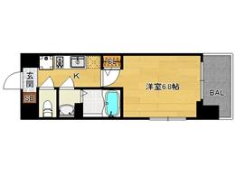 【分譲】アスヴェル京都七条通:間取図